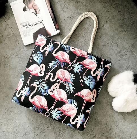 Сумка с фламинго-6