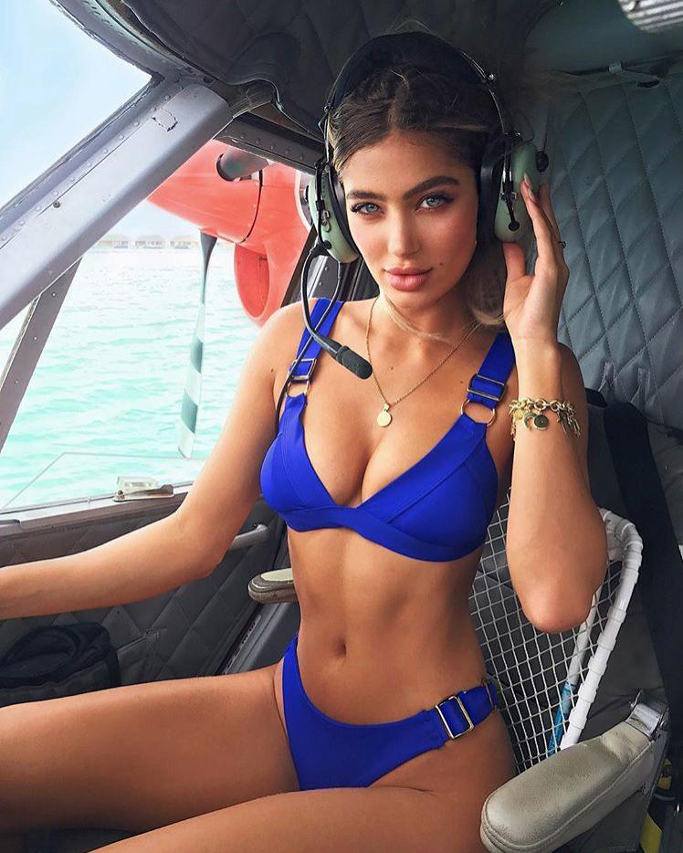 Синий купальник-0
