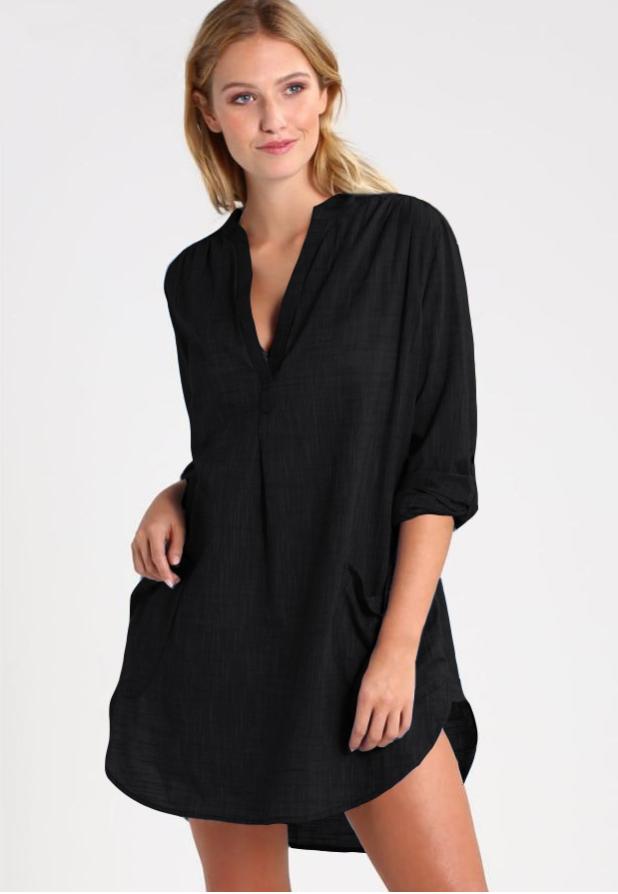 Черная рубашка-2