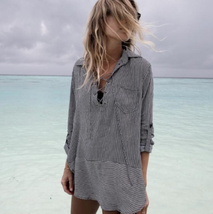Пляжная рубашка