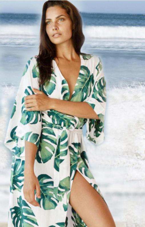 Пляжный халатик