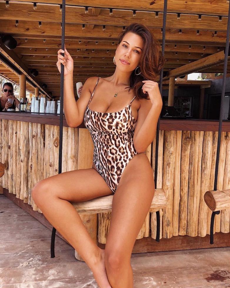 Тигровый купальник