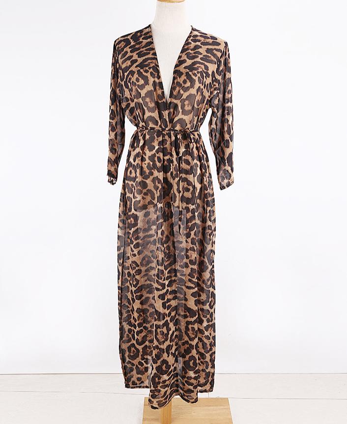 Леопардовая накидка-1