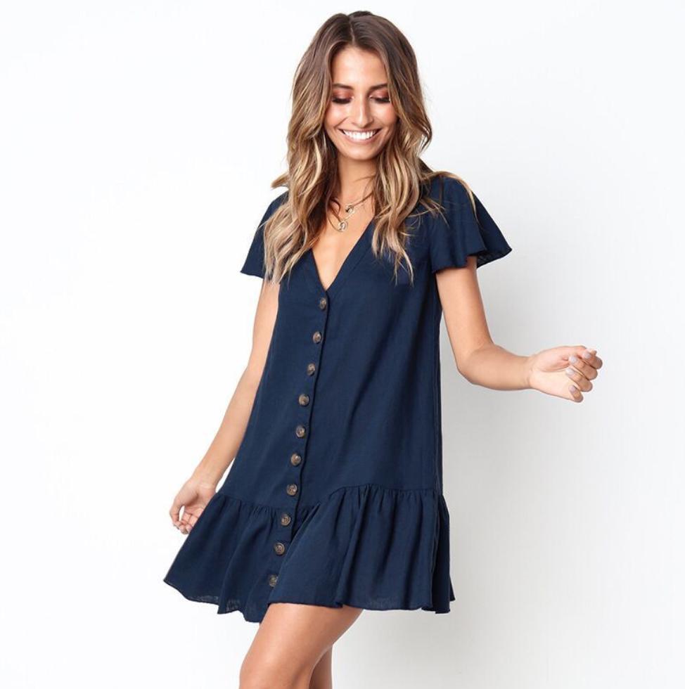 Пляжное платье-0