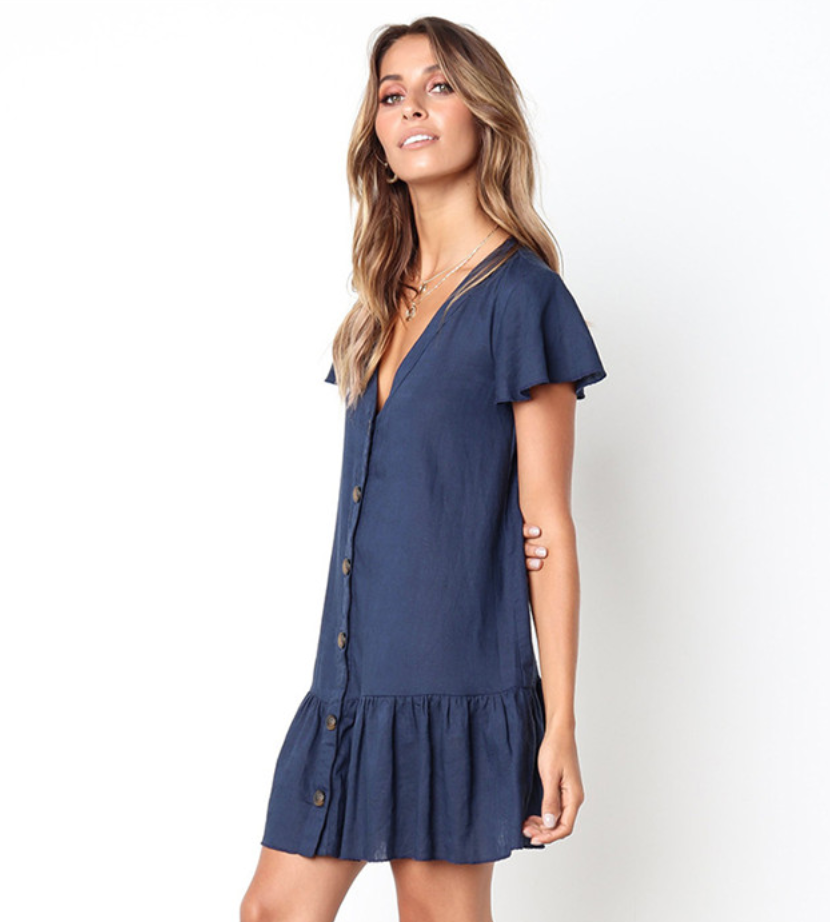 Пляжное платье-1