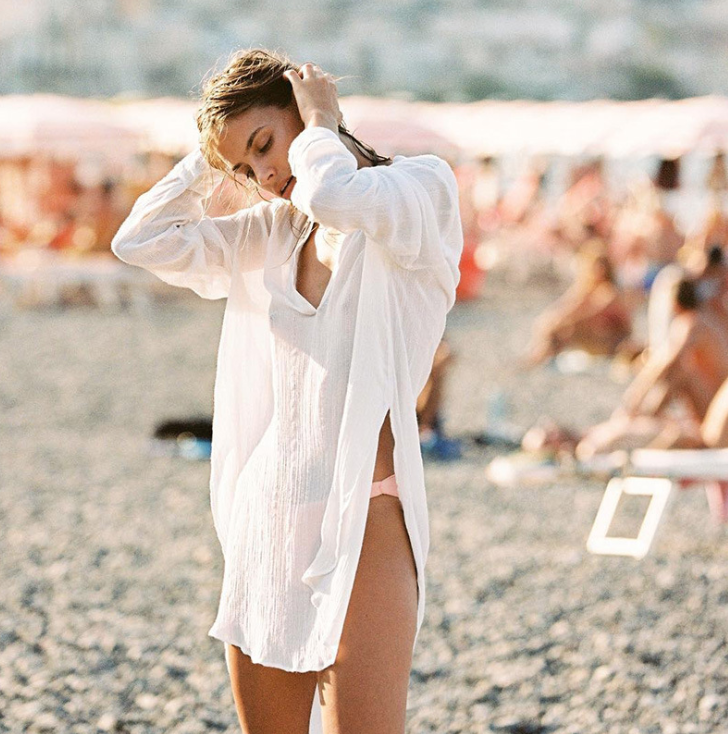 Пляжная рубашка-0