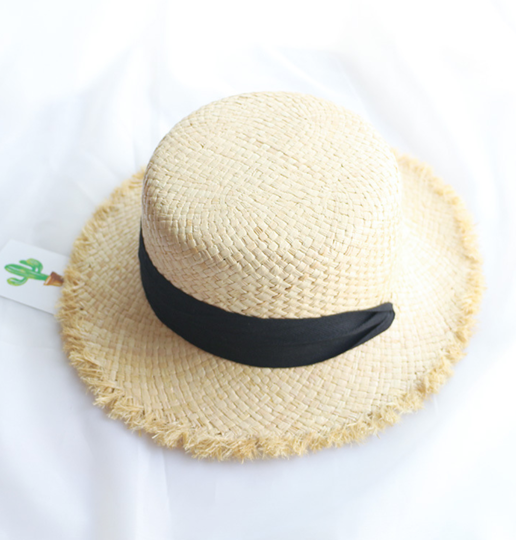 Соломенная шляпка-0