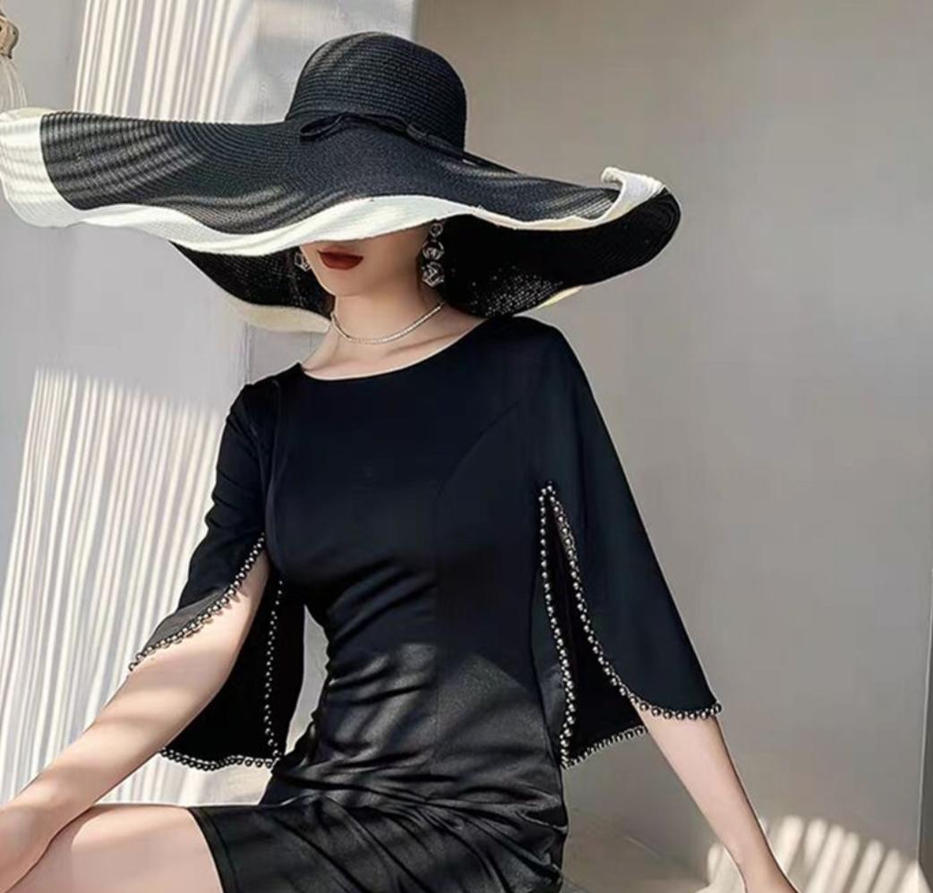 Шляпа с макси полями